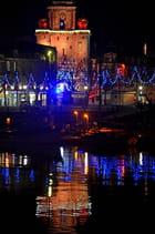La Rochelle illuminée : Grosse Horloge