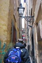 la rue la plus étroite de Stockholm