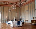 la salle à manger du Palais de Rundale