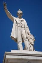 la statue de José Marti