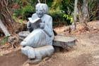 la statue de Madame Panon Desbassayns