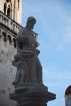 la statue de Sainte Ioannis Trag