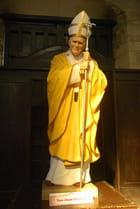 la statue du pape Jean Paul II
