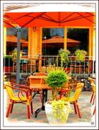 la terrasse orange...MM