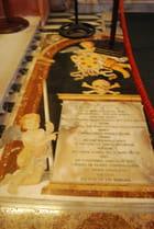 la tombe d'un Chevalier de l'Ordre de Saint Jean de Jérusalem