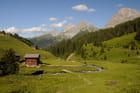 La vallée de Schanfig en été