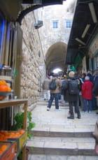 la Via Dolorosa de Jérusalem