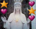 La vierge au coeur d or