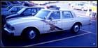 La voiture du shérif...