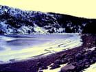 Lac blanc en hiver