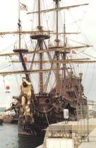 Le bateau de Polenski pour le film