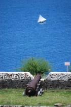 le canon du Vieux Fort