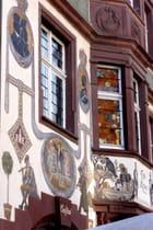 Le centre historique très coloré de et quelques-unes de ses plus belles façades