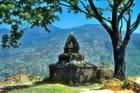 Le charme d'un vieux stupa