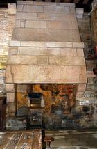 Le château de KERJEAN, le four à pain.