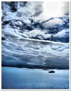 Le ciel dans tous ses états . . .Départ de Molde (NOR).