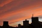 Le ciel un soir...
