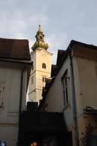 le clocher à bulbe de l'église