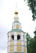 le clocher de la cathédrale de la Transfiguration