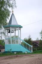 le clocher de la chapelle du XVII° siècle de Goritsy