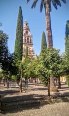 Le clocher-minaret de la cathédrale mosquée de Cordoue