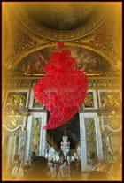 Le coeur ; en rouge