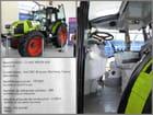 Le Compa - Conservatoire de l'agriculture : tracteur grandeur nature en légos