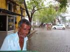 Le conducteur de rickshaw