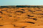 Le désert de Wahiba Sands...