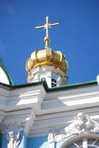 le dôme de l'église de Saint Nicolas des Marins