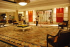 le hall d'entrée de l'hôtel ITC Maratha