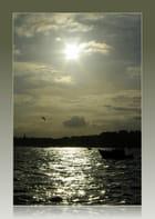 Le jour se lève sur Saint-Malo