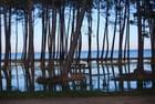 le lac inondé