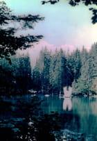 Le lac vert à Plaine-Joux (Passy) Haute-Savoie
