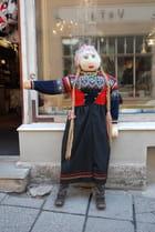 le mannequin dans les rues de Tallin