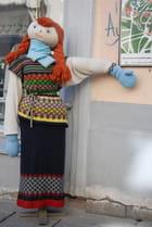 le mannequin prêt à affronter le froid