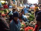 Le marché à Huancayo, Pérou