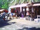 Le marché aux coquillages