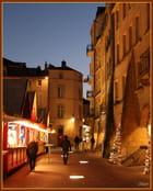 Le marché de Noël place Saint Jacques