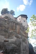 le monastère Saint Nicolas des Météores