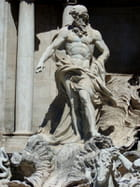 le Neptune de la fontaine de Trevi