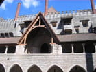 Le palais de Guimaraes et ses cheminées