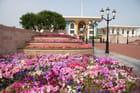 Le palais du sultan Al Qaboos