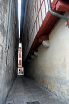 le passage dans la vieille ville