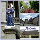 Le petit bourg de Pontmain (Mayenne)