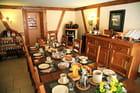 Le petit déjeuner au Clos des Raisins, Chambres d'hôtes en Alsace