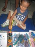 le petit peintre brésilien