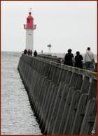 Le phare de Trouville sur Mer...