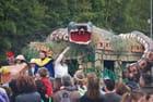 Le python du carnaval