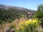Point de départ de la randonnée à la Croix de Provence